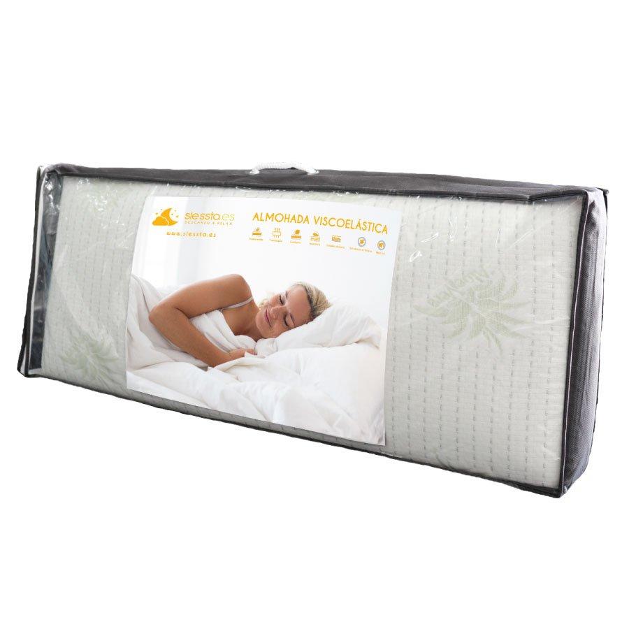viscoelástica almohada odisea en funda de siessta